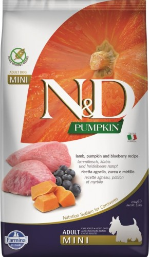 N&D Dog GF Pumpkin Lamb & Blueberry Adult Mini